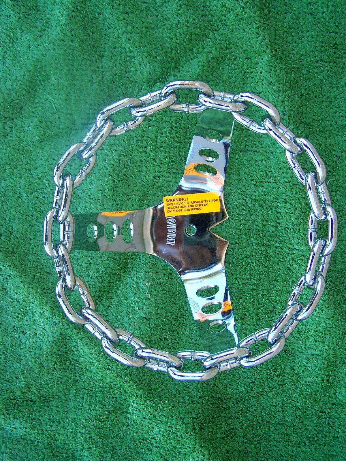 STEERING WHEEL CHAIN  LOWRIDER BIKE BICYCLE  authentic quality