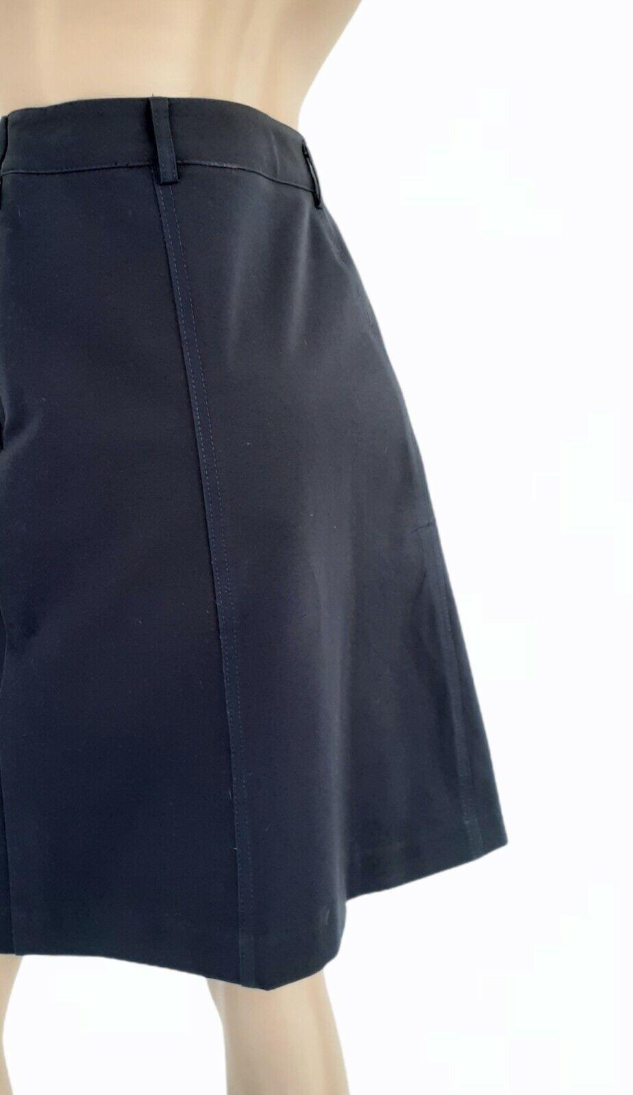 J McLaughlin Teal Button Front A Line Skirt Size 2 - image 7