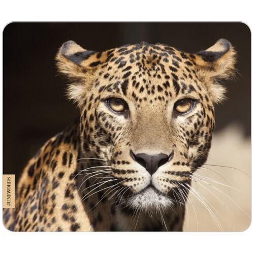 """JUNIWORDS Mauspad Mousepad /""""Leopard/"""" Geburtstag Birthday Geschenk Weihnachten"""