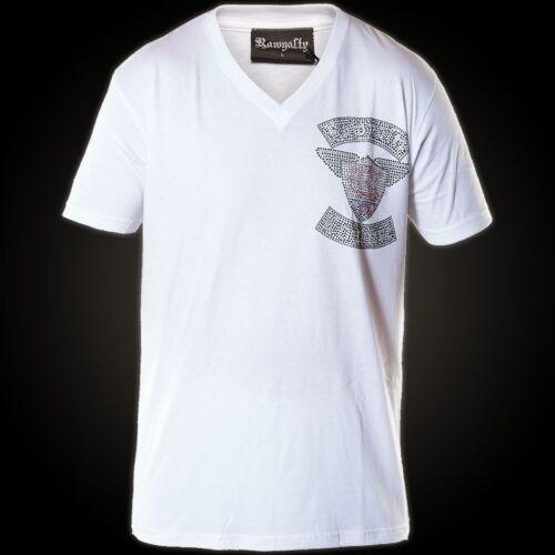 shirt Hommes Couture Rawyalty Rc T T shirts Blanc qd0Sq