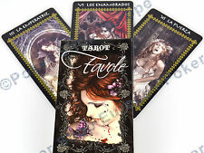 FAVOLE TAROT CARDS FOURNIER FANTASY GOTHIC VICTORA FRANCES ILLUSTRATOR