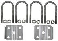 Trailer Leaf Spring 2-3/8 Round 3500lbs Axle U-bolt Kit 5-1/2 Long