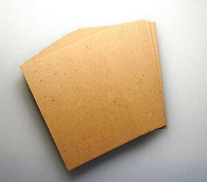 "8.5"" x 11"" Chipboard Kraft 0.022 or 0.03 Die Cuts Cricut Craft 10 to 100 sheets"