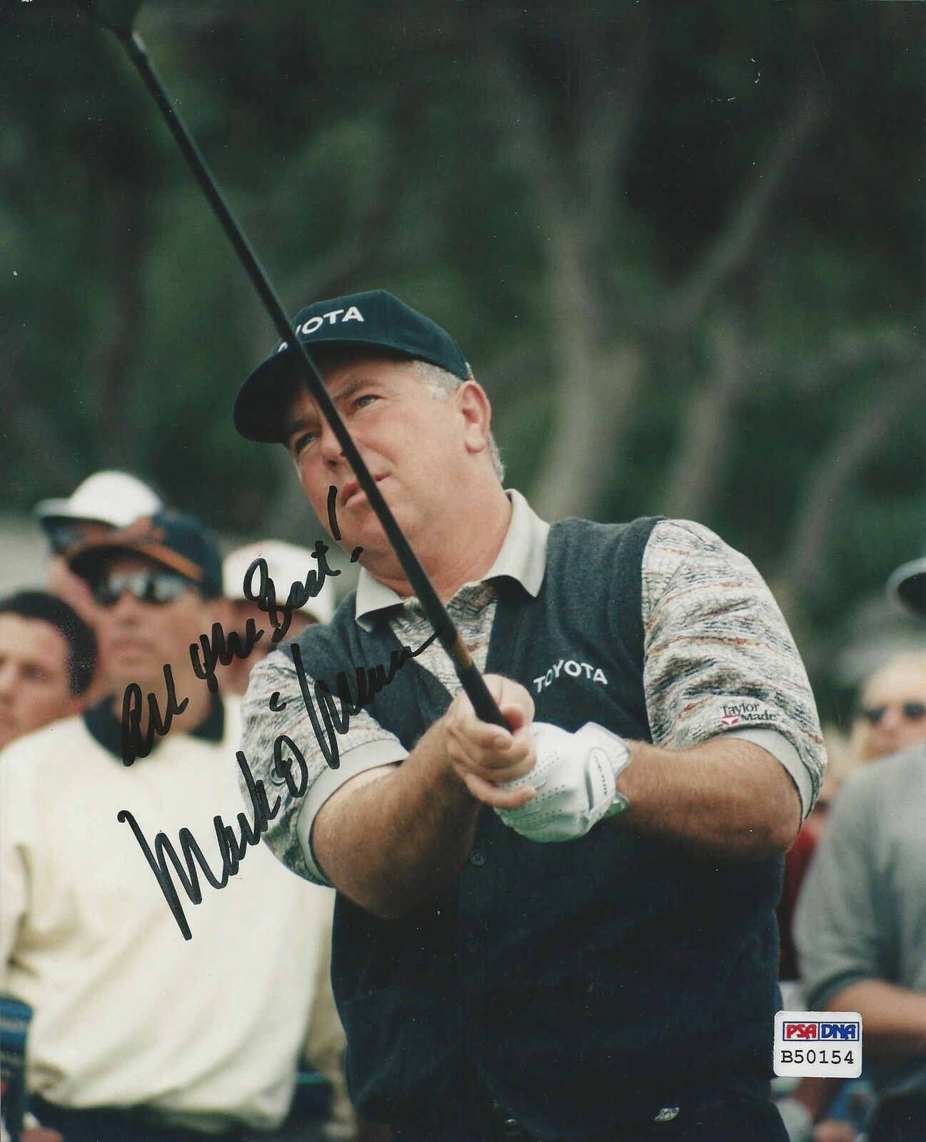 Mark O'Meara PGA Golfer signed 8x10 photo PSA/DNA #B50154