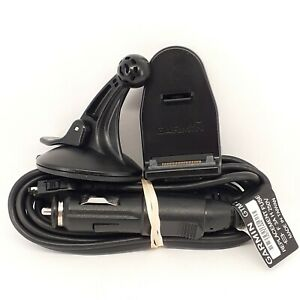 Garmin NUVI 750 755T 760 765T GPS Windshield Mount Cradle Car Charger | Tested
