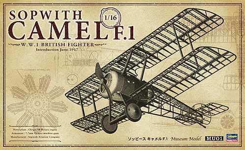 Hasegawa 1 16 SOPWITH CAMEL F.1 50031