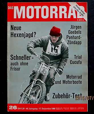 Die Panhard-ks Von Jürgen Goebels Puch 250 Sgs FleißIg Das Motorrad 26/66 Bau Am Motor