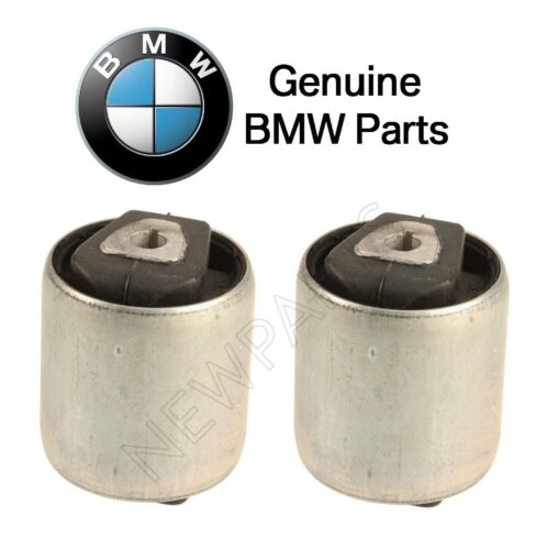 For BMW F15 F16 Pair Set of Front Lower Forward Suspension Control Arm Bushings
