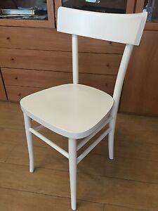 Sedia Bianca Legno.Dettagli Su Sedia Bianca In Legno Massello Colore Bianco Cucina