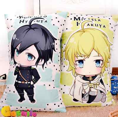 Anime Seraph of the End Owari no  Mikaela Yuuichirou Hyakuya Cushion Pillow