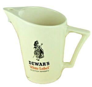 Dewars Pitcher Wade Regicor London White Label Scotch Whisky Made England