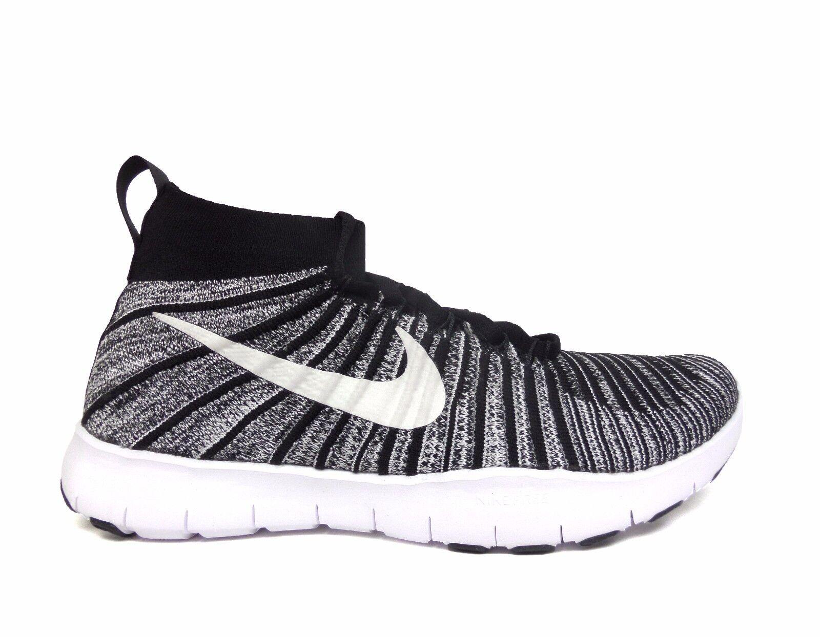 Nike uomini liberi treno vigore flyknit le formazione nero / bianco le flyknit scarpe 833275-007 b 35e720