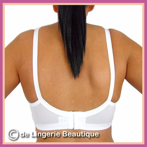DD C D White Cross Your Heart Style Bra with Lace Size 32-42 Cup Size A B