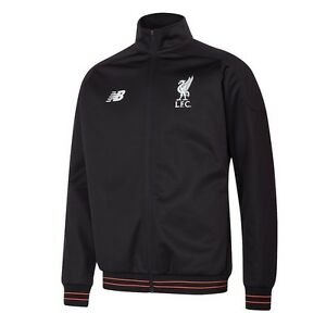 New Balance Liverpool FC 2016 - 2017 Line Up Soccer Full Zip Jacket ... db7b8688b838c