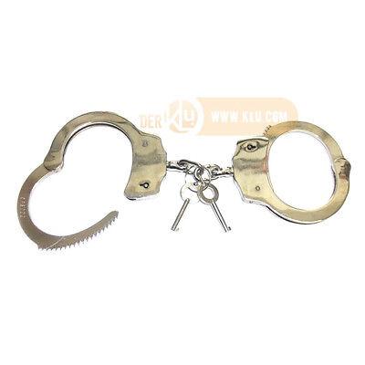 Tasche Holster Handschelle mit Kette US Police Army Handcuffs Hand Fessel inkl