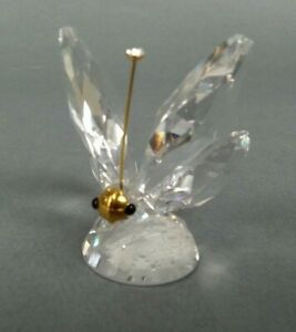 Butterfly-Swarovski-crystal-as-is-missing-antenne