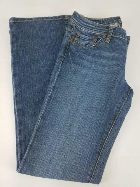 f78a26e44f6 Seven 7 Women s size 29 Sexy Flare Jeans Distressed Blue Wash Denim ...