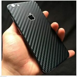 more photos 796a3 94e80 Details about Textured Carbon Fibre Skin Wrap Sticker Decal Case Cover For  All iPhone 8 8 Plus