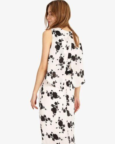 Maxi 14 Sz New Phase Eternity Floral Dress Eight Uk qqp8wZI
