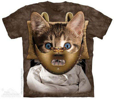 Men/'s Ladies T SHIRT funny cat KITTEN spoof artist Vincent Van Gogh No unhappy