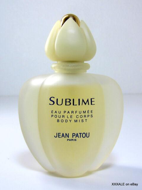 Jean Patou SUBLIME 2.5 oz Eau Parfumee Spray Body Mist Paris France  VTG