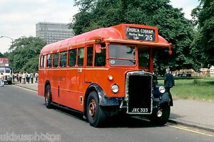 London-Transport-TD130-Hyde-Park-1979-Bus-Photo