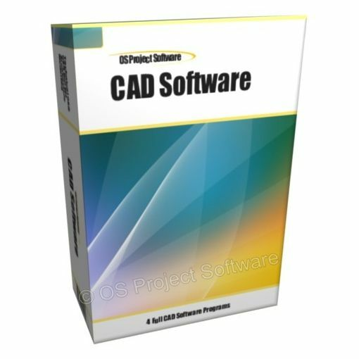 2017 2D 3D CAD - Uses AutoCAD DWG File - Computer Aided Design Software