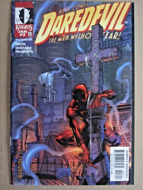 1999 MARVEL COMICS DAREDEVIL THE MAN WITHOUT FEAR VOLUME 2, #3 KEVIN SMITH STORY