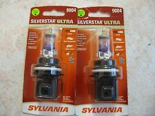 9004 Headlight Bulb SilverStar Ultra Blister Pack Twin Sylvania