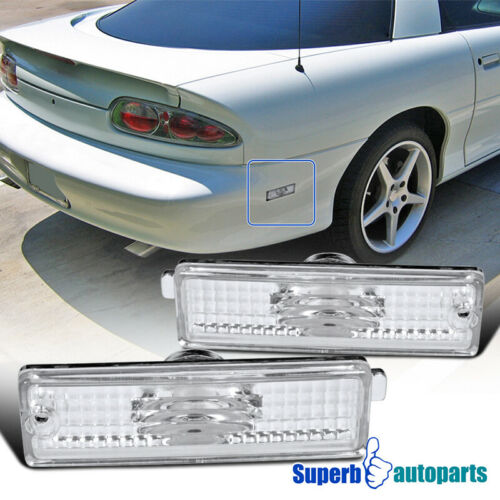 For 1993-2002 Chevy Camaro Rear Bumper Lights Signal Lights Replacement