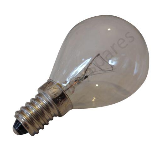 Universel 2 40 W E14 300deg pour four et cuisinière résistant à la Chaleur Lampe ampoules haute temp