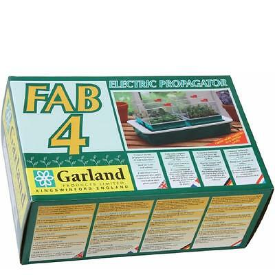 GARLAND FAB 4 ELECTRIC 10 WATT  WARM HEATED PROPAGATOR SEED COMPOST G125