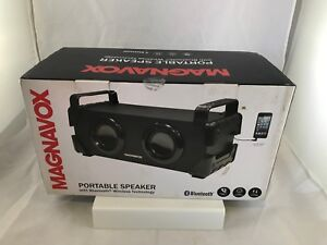 Magnavox-Portable-Speaker-W-Bluetooth-Wireless-Technology-Hands-Free-Phone-NIOB