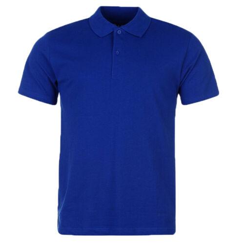 Jack /& Danny/'s Premium Polo ShirtPlain Short Sleeved Top