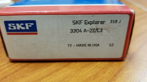 SKF 3304A-2Z//C3 Roller Bearing FREE SHIPPING NEW IN FACTORY BOX