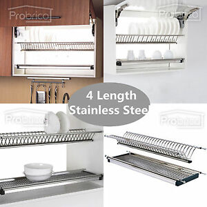 Merveilleux Image Is Loading Folding 2 Tier Dish Drying Dryer Racks Drainer