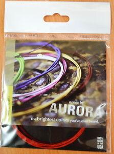 Aurora String Set Pour Turc Instrument à Cordes Court Cou Saz 0.18 Mm-afficher Le Titre D'origine Nous Avons Gagné Les éLoges Des Clients