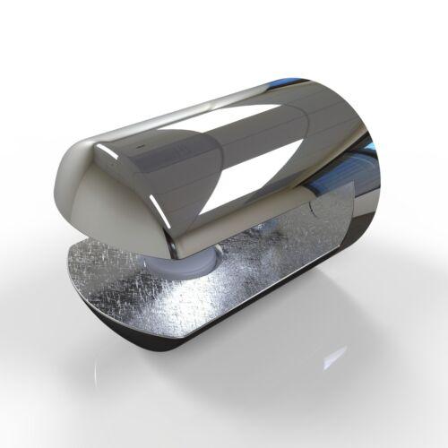 pour jusqu/'à 6mm d/'épaisseur du matériau Deux étagère supporte par hafele chromé