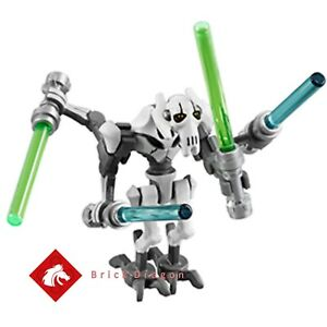 Lego-Star-Wars-General-Grievous-Minifigur-NEU-aus-Set-75199