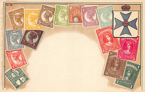 Queensland-Stamps-on-Early-Postcard-Used-in-1937-Published-by-Ottmar-Zieher