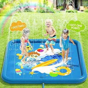 Peradix IRRIGATORI Pad-Acqua Splash Tappeto di gioco Pad estate all'aperto/Giardino/Spiaggia
