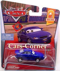 Disney-Pixar-Cars-Christina-Wheeland-Race-Fans-Serie-Mattel-NEU-amp-OVP