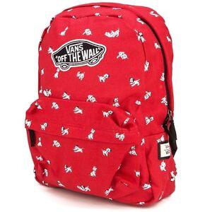 Vans Off The Wall Disney Dalmatian 101 Dogs School Backpack Bag