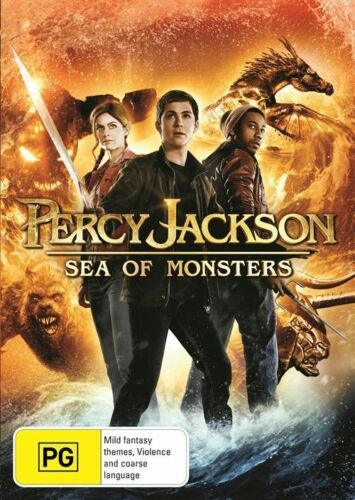 1 of 1 - Percy Jackson: Sea Of Monsters (DVD, 2014)