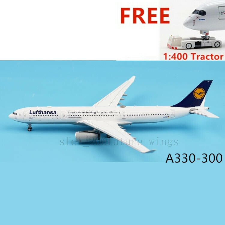 (Rare)1 400 Skywings Lufthansa Airlines A330-300 D-AIKB +Free 1 400 Tractor