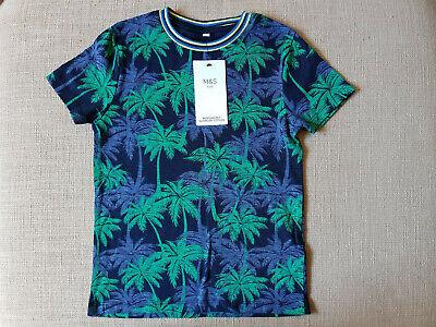 *** Ragazzi M&s T-shirt *** 5 - 6 Anni ***-mostra Il Titolo Originale