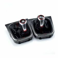 Gear Shift Knob 6 Speed 5 Speed Boot Gaitor Cover For Vw Volkswagen Golf Mk5 Mk6 Fits Jetta