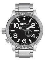 Nixon Original 51-30 Tide A057-000 Silver Stainless Steel 51mm Watch