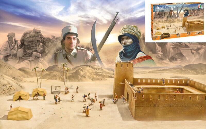 Beau Geste Algerian Touareg Revolt Battle Set 1877-1912 Plastic  Kit 1 72 Model  expédition rapide dans le monde entier