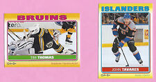 2012-13 O-Pee-Chee STICKERS Inserts - You Pick To Complete Your Set